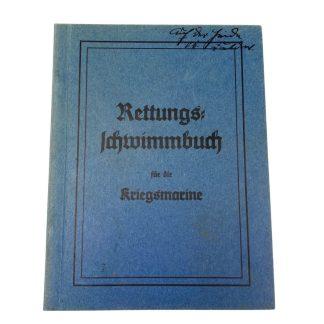 Original WWII German Kriegsmarine 'Rettungs Schwimmbuch'