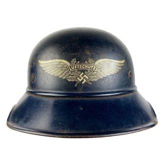 Original WWII German M38 Luftschutz helmet
