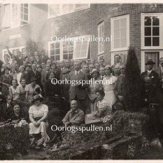 Original WWII Dutch NSB photo – Bilthoven