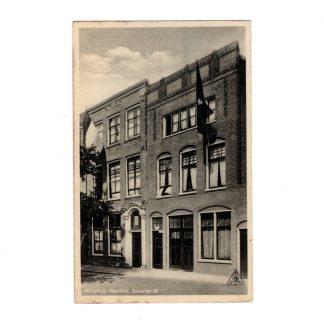 Original WWII Dutch NSB postcard – Kringhuis Haarlem