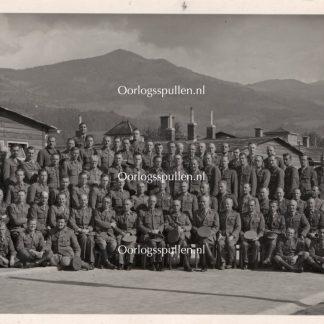 Original WWII Belgian OFLAG XVIII B photo