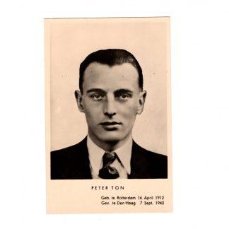 Original WWII Dutch NSB postcard - Peter Ton