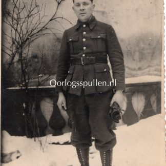 Original WWII French STALAG-IV C photo send to Bourgese Cher (France)