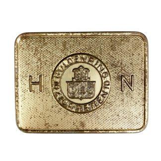 Original WWII German 'Guldenring' cigarettes tin
