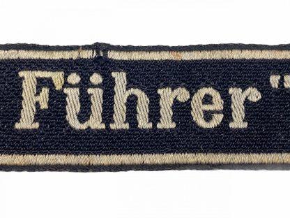Original WWII German Waffen-SS SS-Panzergrenadier-Regiment 4 'Der Führer' cuff title