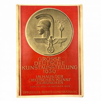 Original WWII German Grosse Deutsche Kunstausstellung 1939 book