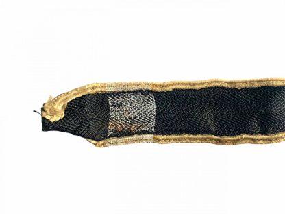 Original WWII Dutch 'Landwacht Nederland' cuff title