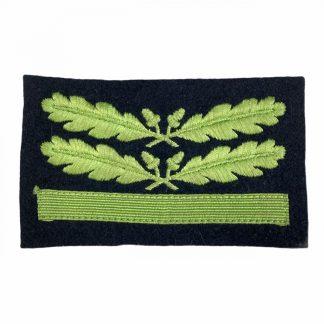Original WWII German Waffen-SS/Heer Sturmbahnführer camouflage rank