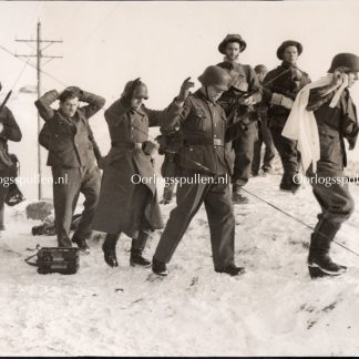 Original WWII British photo - British raid on German bases in Norway