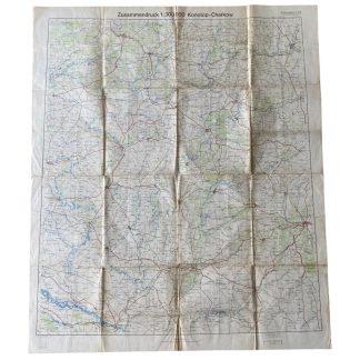Original WWII German map of Charkow