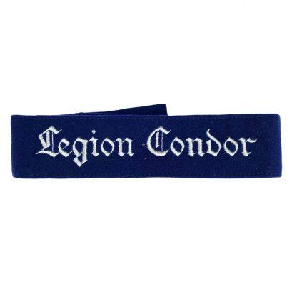 Original WWII German Luftwaffe 'Legion Condor' cuff title