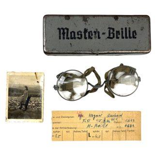 Original WWII German Masken-Brille
