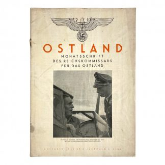 Original WWII German Ostland magazine