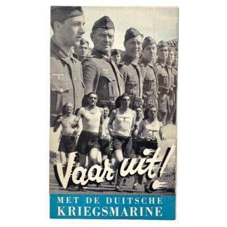 Original WWII Dutch Kriegsmarine volunteer flyer/poster