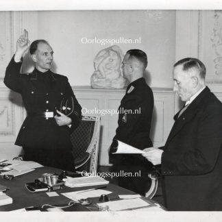 Original WWII Dutch SS photo