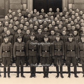 Original WWII German large size Waffen-SS photo - H.J. Allaart & Walter Harzer