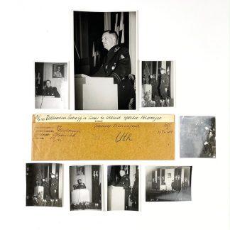 Original WWII Dutch SS photo grouping - Henk Feldmeijer in Utrecht