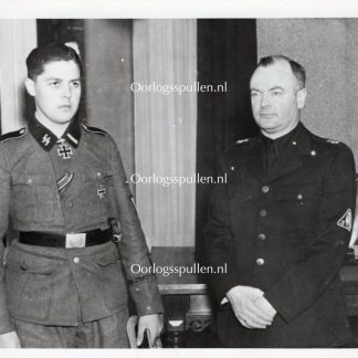 Original WWII Dutch Waffen-SS volunteer photo - KC holder Gerardus Mooyman