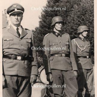 Original WWII Dutch Waffen-SS photo - Rauter & Helle in Amersfoort