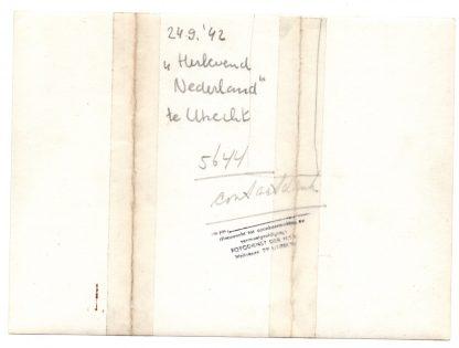 Original WWII Dutch NSB photo - Exhibition Herlevend Nederland