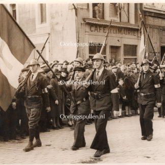 Original WWII French liberation photo