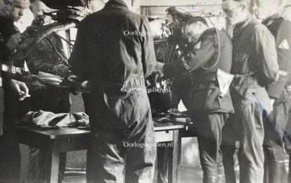 Original WWII Dutch NSB Lijfwacht Mussert photo grouping