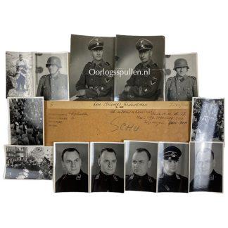 Original WWII Dutch Waffen-SS volunteer photo grouping - Melchert Schuurman