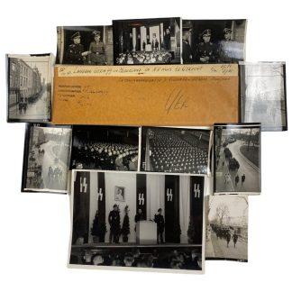 Original WWII Dutch SS photo grouping - Gerardus Mooyman & Henk Feldmeijer