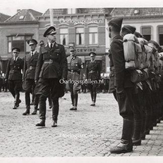 Original WWII Nederlandsche Arbeidsdienst photo - Steenwijk