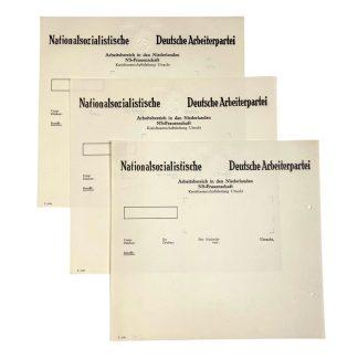 Original WWII German NS-Frauenschaft document