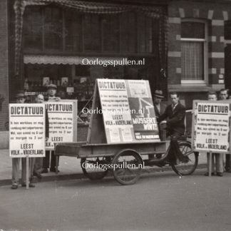 Original WWII Dutch NSB photo Amsterdam
