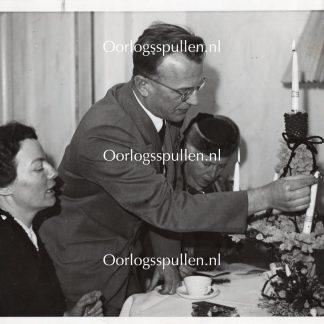 Original WWII Dutch SS photo - SS-Gruppenführer Seyss-Inquart