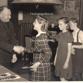 Originele WWII Nederlandse NSB kindertehuis foto Westerhelling in Berg en Dal